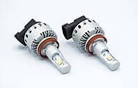 Комплект светодиодных ламп головного света 7S-H11 LED  12-24v/8000Lm/6500K светодиодная фара основного света