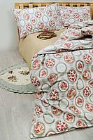 Постельное белье Lotus Premium Daisy евро размера
