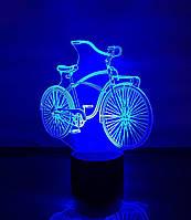 """Сменная пластина для 3D светильников """"Велосипед"""" 3DTOYSLAMP, фото 1"""