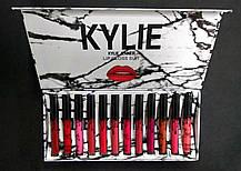 Помада в мраморной белой упаковке 12 цветов Kylie, фото 2