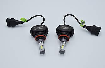 Комплект светодиодных ламп головного света LED R1 H11 CREE светодиодная фара основного света
