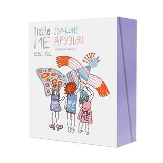 Набір для дівчаток Estel Little Me Шампунь + спрей для волосся + бальзам для губ