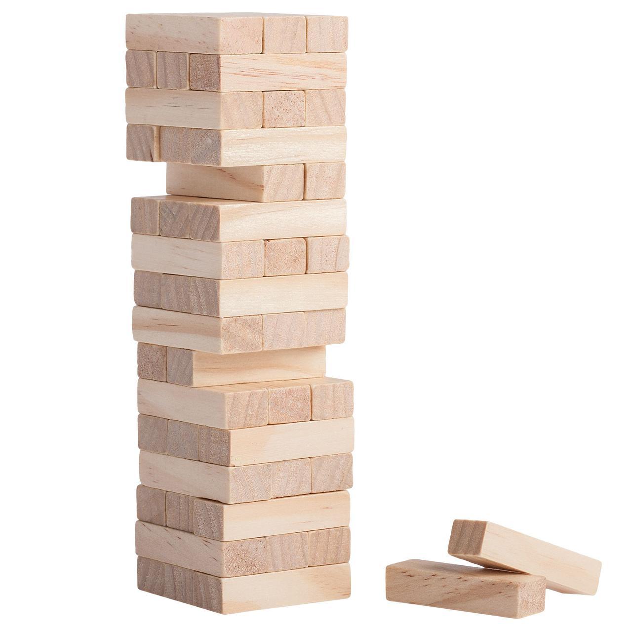 Настольная игра Vega головоломка Башня Дженга 48 блоков