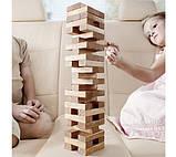 Настольная игра Vega головоломка Башня Дженга 48 блоков, фото 3
