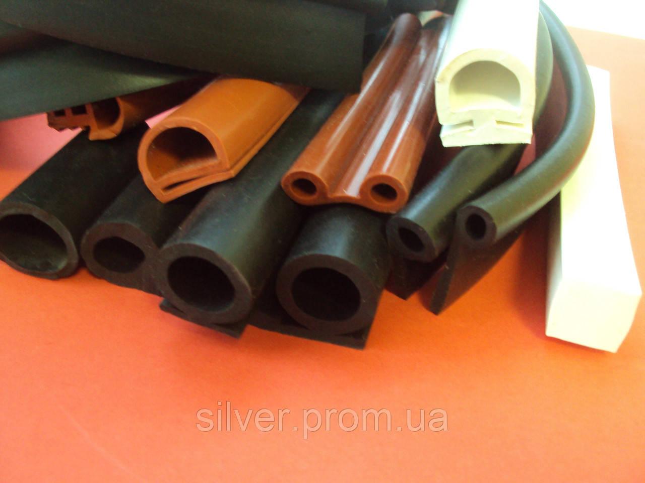 Уплотнители резиновые,профиль силиконовый-SILVERPROM