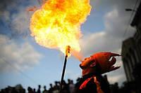 Фаер шоу в Одессе. Пиротехническое шоу, fire show, огненное шоу, шоу с огнем