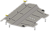 Защита двигателя Citroen Berlingo III (B9) 2008 -V-всі