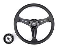 Рулевое колесо 35 см чёрное Pretech HD-5125D 350мм