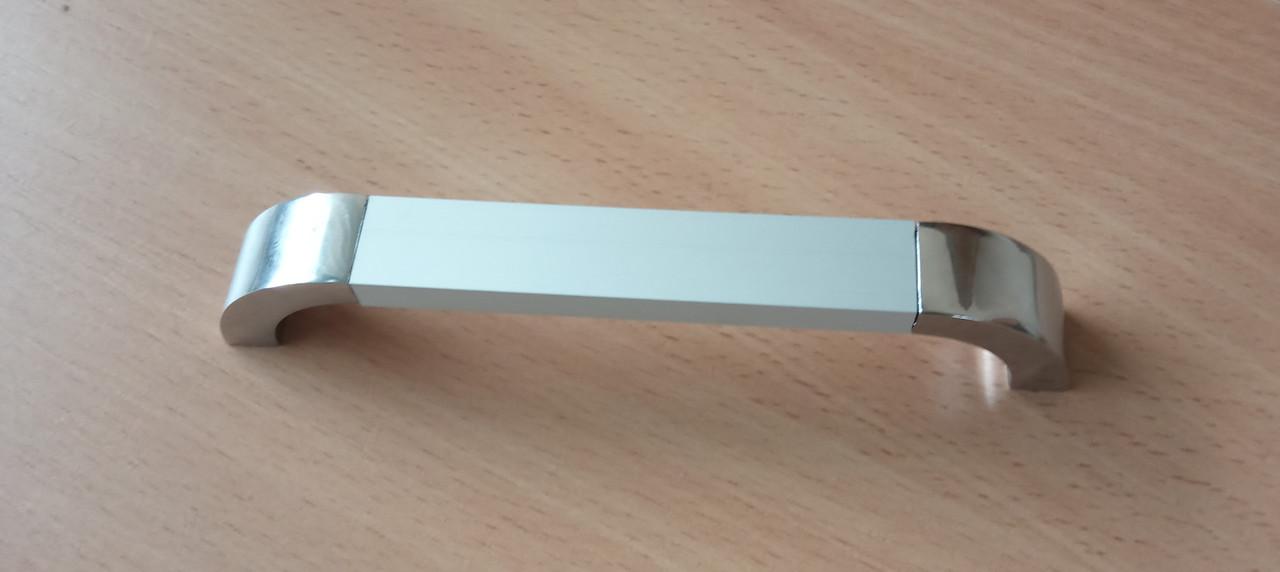 Ручка меблева Ozkardesler 14.213 ARKAS 96мм Хром Хром