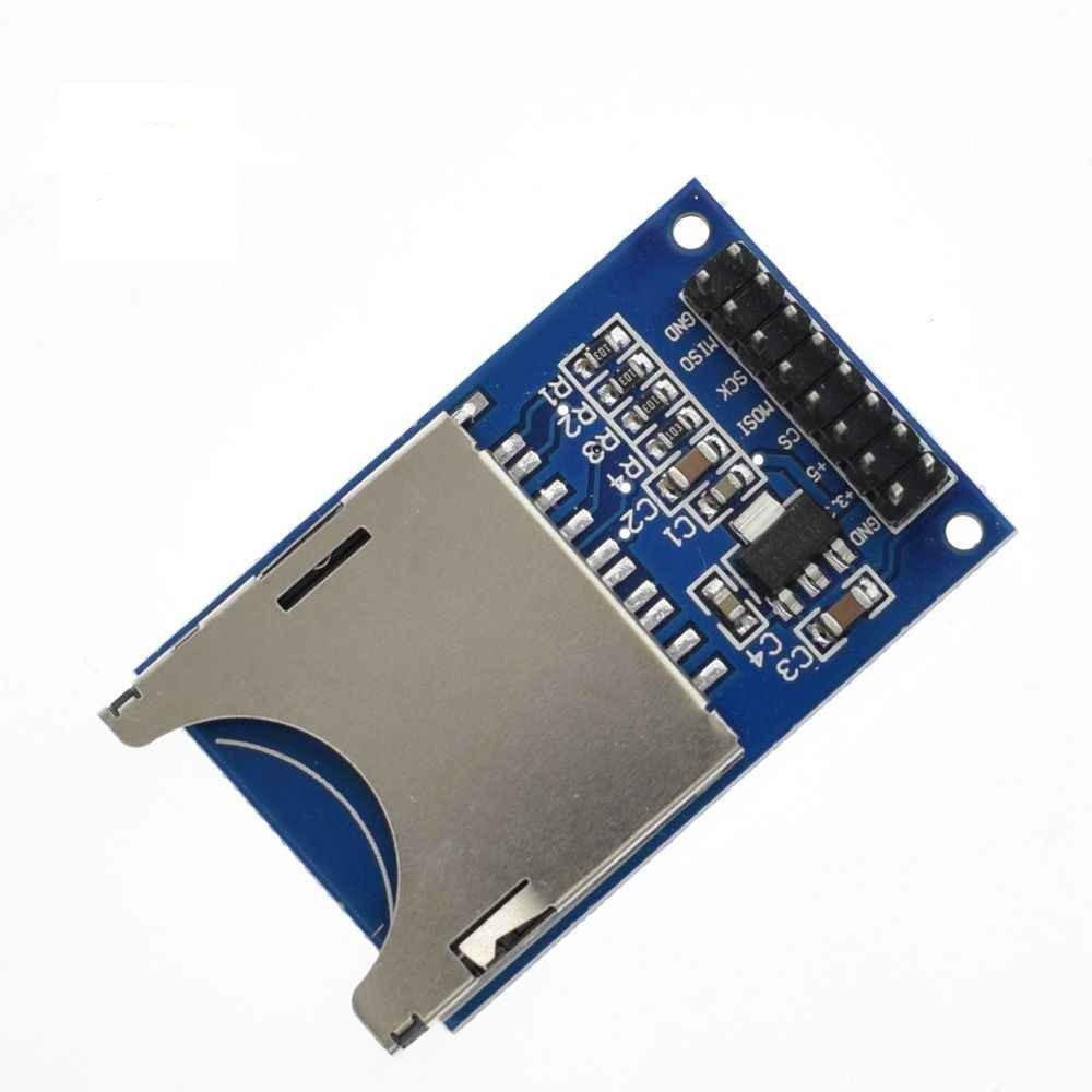 Модуль чтения записи карт SD, Arduino