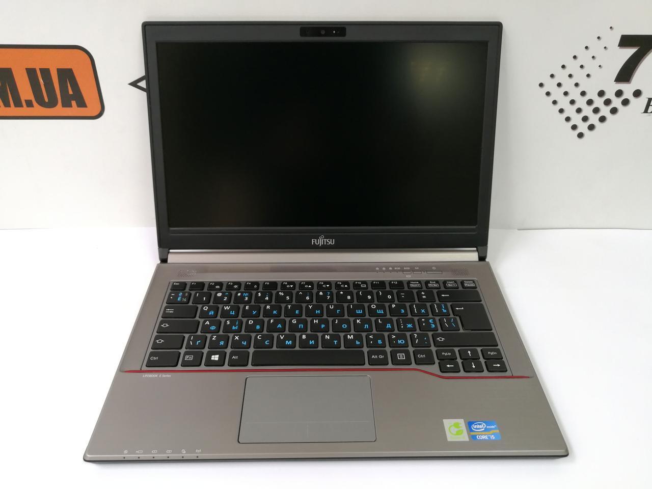 """Ноутбук Fujitsu LifeBook E743, 14"""", Intel Core i5-3230M 3.2GHz, RAM 16ГБ, SSD 240ГБ (SSHD 500ГБ)"""