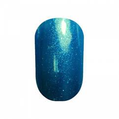 Гель-лак №077 (насичений білі-синій з мікроблеском) 10 мл Tertio