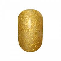 Гель-лак №177 (насичений золотистий з блискітками) 10 мл Tertio