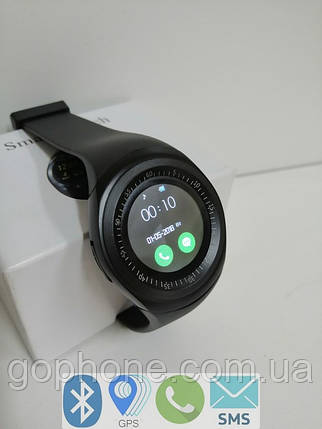 Часы смарт Smart Watch Smart Y1 Bluetooth v 3.0/280 мАч/металл, фото 2
