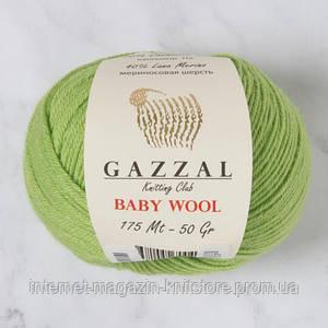 Пряжа Gazzal Baby Wool Зелень