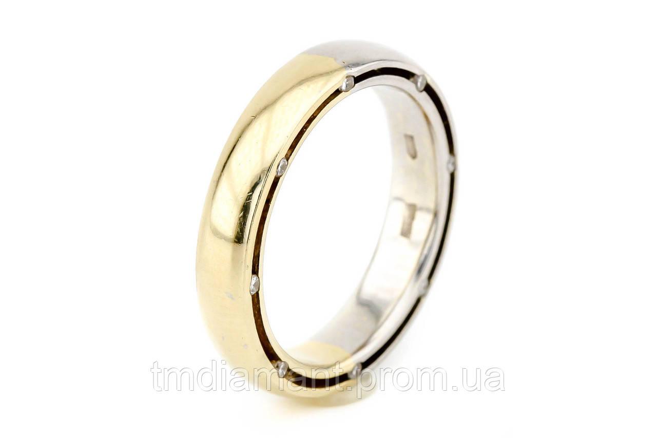 d4e4de77d9d5 Золотое обручальное кольцо с бриллиантами (женское)