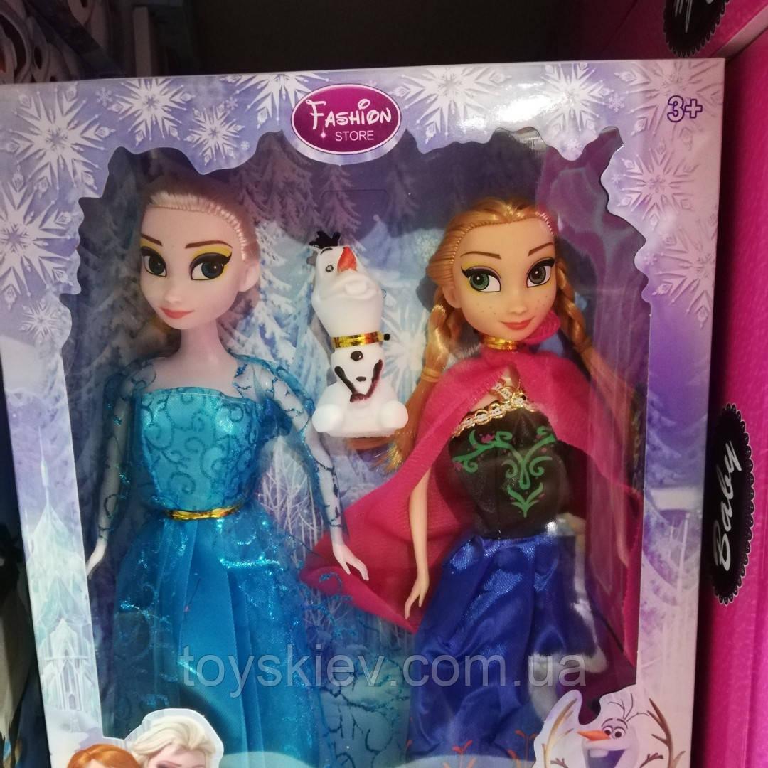 Кукла Frozen Анна и Эльза 002