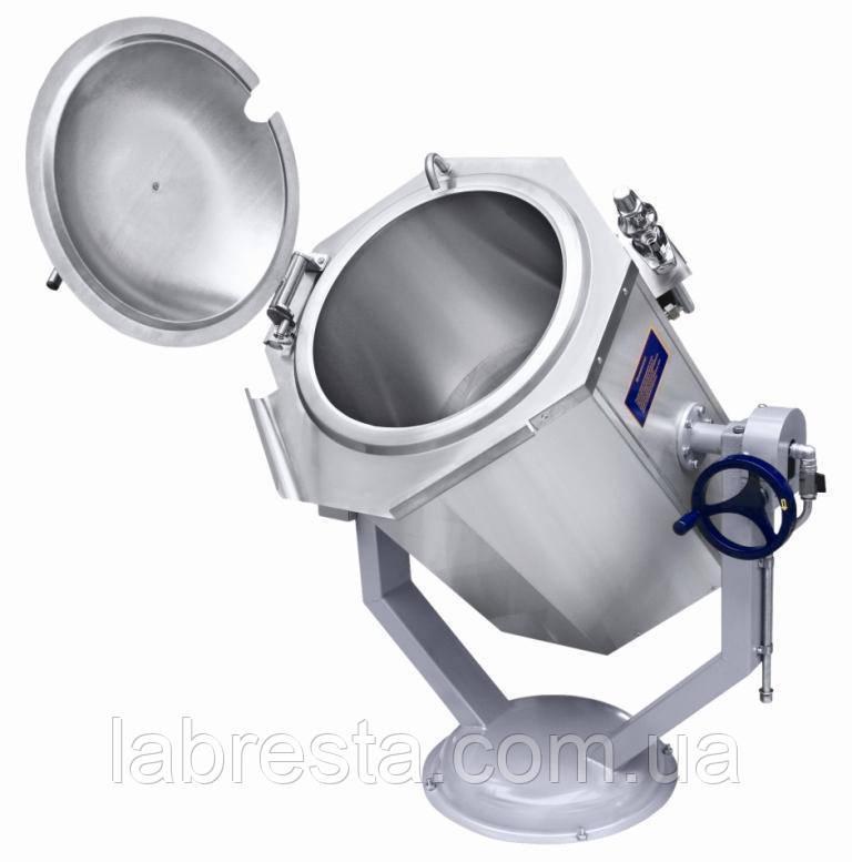 Котел пищеварочный Abat КПЭМ-160-ОР (160 л, ручное опрокидывание)