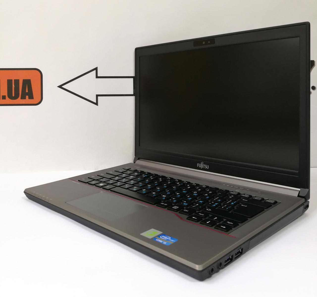 "Ноутбук Fujitsu LifeBook E743, 14"", Intel Core i5-3230M 3.2GHz, RAM 4ГБ, SSD 120ГБ (HDD 500ГБ)"