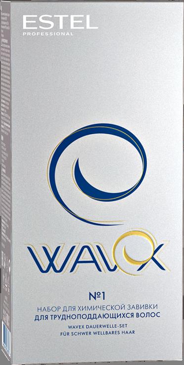 Набір для хімічної завивки Estel Wavex для волосся що важко піддається