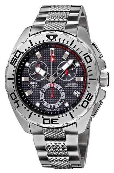 Мужские часы Swiss Military  20082ST-1M