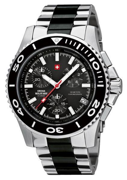 Мужские часы Swiss Military  20084ST-1MBK