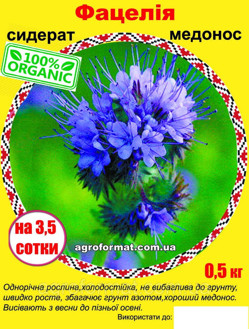 Фацелія насіння 0.5 кг