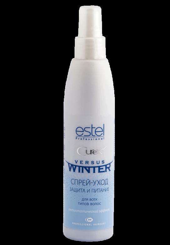 Спрей-догляд CUREX VERSUS WINTER для волосся захист та живлення, 200 мл