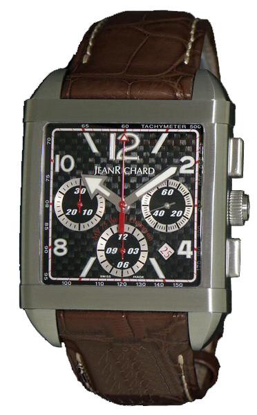 Мужские часы JeanRichard 65118-11-S88-AAED