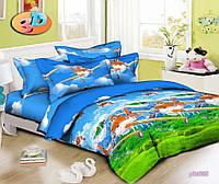 Полуторный комплект детского постельного белья для мальчиков