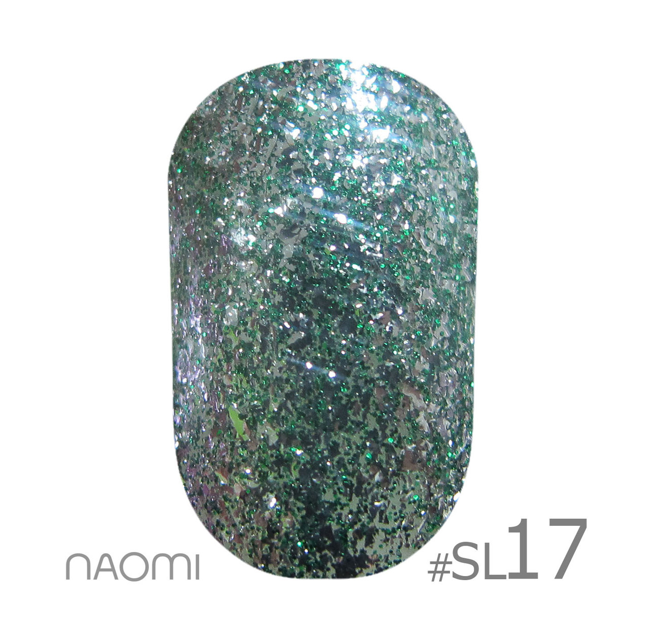 Гель-лак для нігтів 6 мл Naomi Self Illuminated Collection SI 17