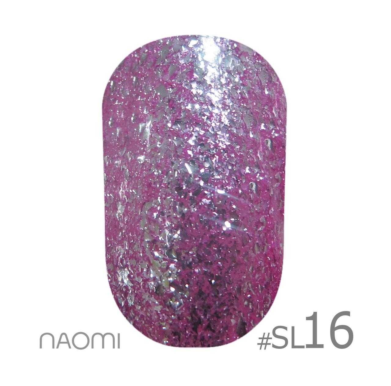Гель-лак для нігтів 6 мл Naomi Self Illuminated Collection SI 16