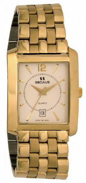 Мужские часы Seculus 4419.1.505 white ap-g, pvd, pvd