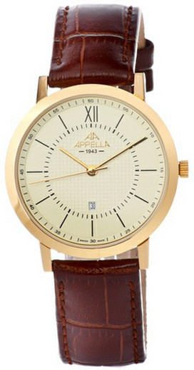 Мужские часы Appella A-4289-1012