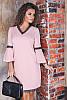 Элегантное весеннее платье Леона 48-60рр, фото 5