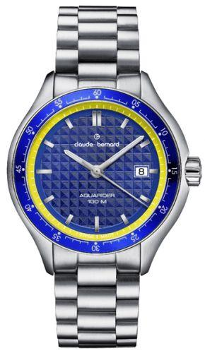 Мужские часы Claude Bernard 70166 3BM BUJ