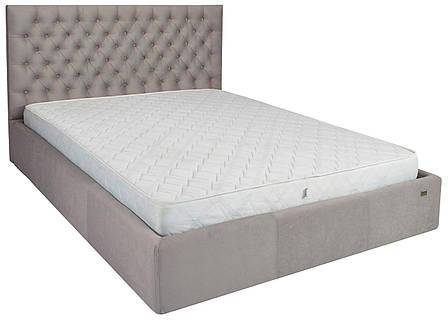"""Кровать Кембридж (с пуговицами) (комплектация """"Комфорт"""") с подъем.мех., фото 2"""
