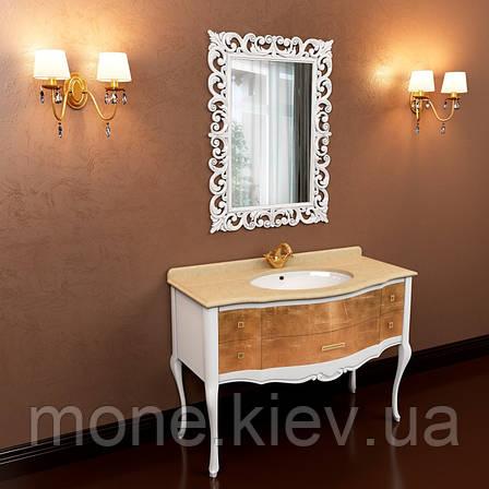 """Комплект мебели в ванную комнату """"Анжелика"""" (тумба+раковина+столешница+зеркало), фото 2"""