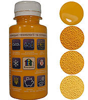 Колеровочная паста Кольорова Хата № 10 Ярко-желтый 0,1л