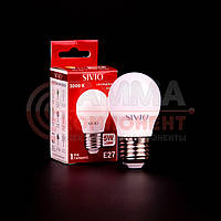 Светодиодная лампа SIVIO G45 5W, E27, 3000K, теплый белый