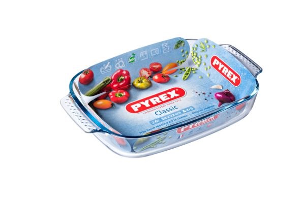 Форма с/к PYREX  Classic форма стек.прямоуг. 34х22х6см (2.6л) (231B000)