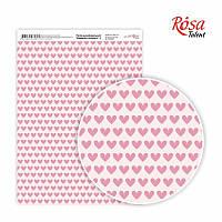 Папір дизайнерський А4 Rosa Моменти ніжності 3 21х29.7см 250г/м2 4823064969894