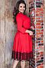 Платье миди с кружевом Азалия 48-60рр, фото 5