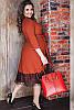 Платье миди с кружевом Азалия 48-60рр, фото 7