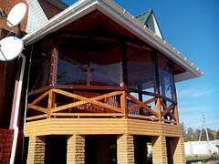 Мягкие ПВХ окна, шторы и завесы для загородных домов