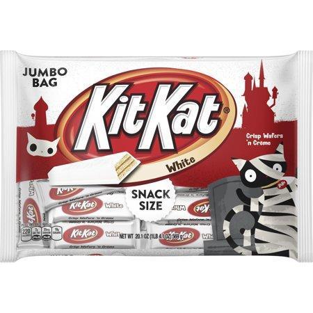Kit Kat Halloween Snack Size White Creme