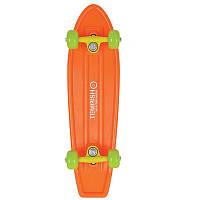 Скейтборд детский Tempish Buffy Junior Orange скейт оранжевого цвета / легкий / из прочного пластика / удобный