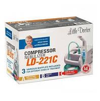 Ингалятор (небулайзер) Little Doctor LD-221C для детей компрессорный гарантия 3 года