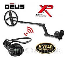 Металлоискатель XP Deus, катушка 22 Наушники WS4
