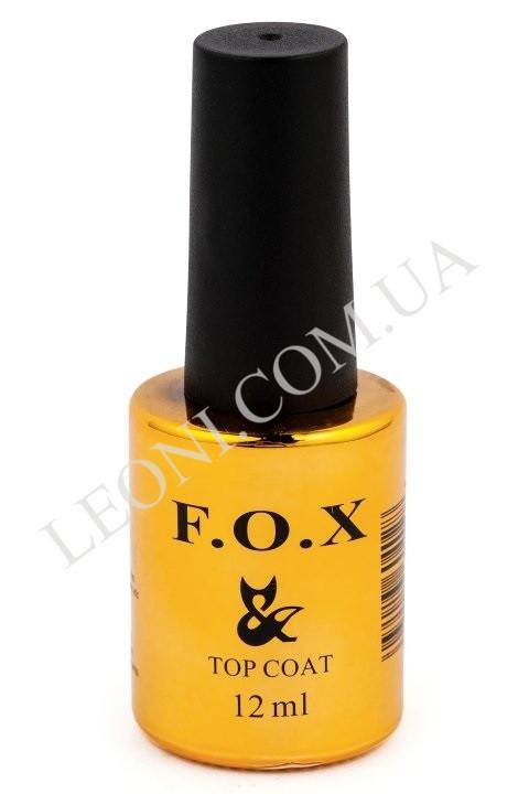 F.O.X. Top Coat верхнее матовое покрытие (12мл.)